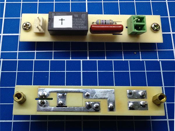 Manual PCB milling