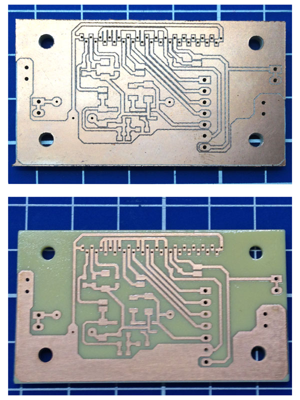 Surface mount PCB milling