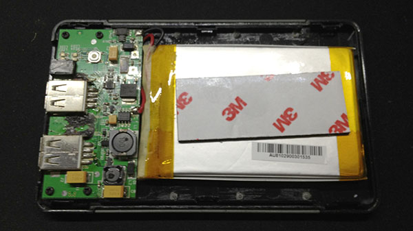 XP4001 inside