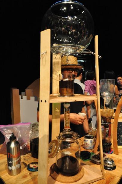 Fancier coffee machine