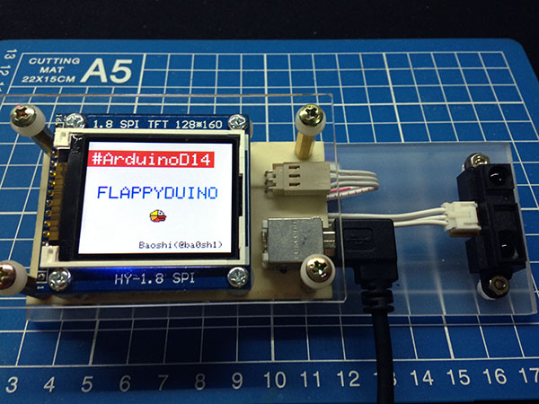 FlappyDuino – Arduino Day 2014celebration