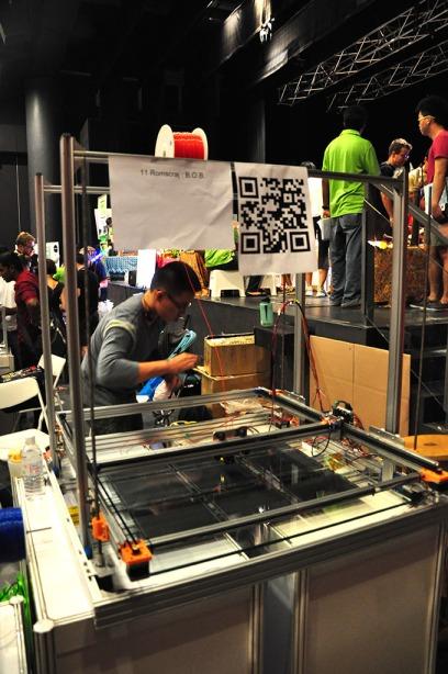 Huge 3D printer