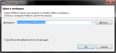 Eclipse workspace location