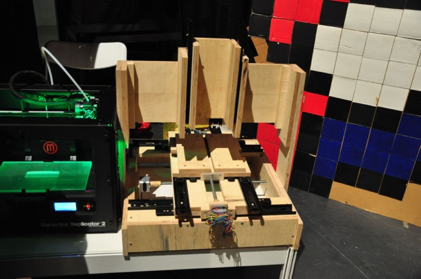 Wood 3D printer