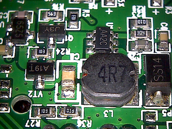 Charger B boost converter