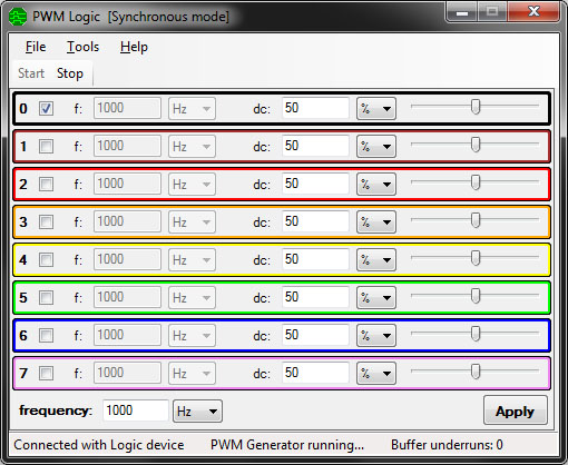 PWM Logic screen shot