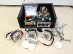 CNC conversion kit, Power supply, Control boards, Motors and Chasis