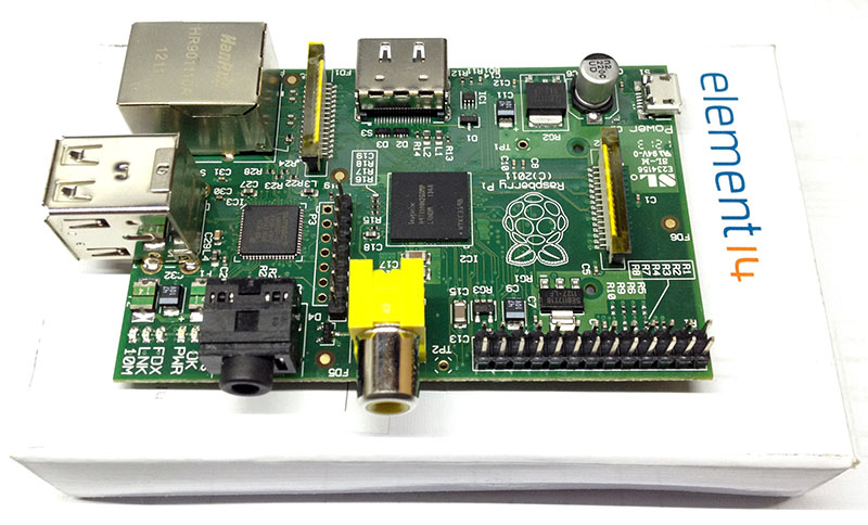 My Pi hasarrived!