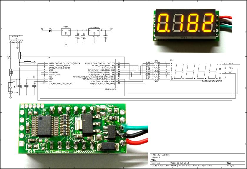 Voltmeter schematic