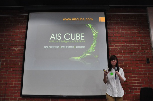 Michelle from AIS Cube