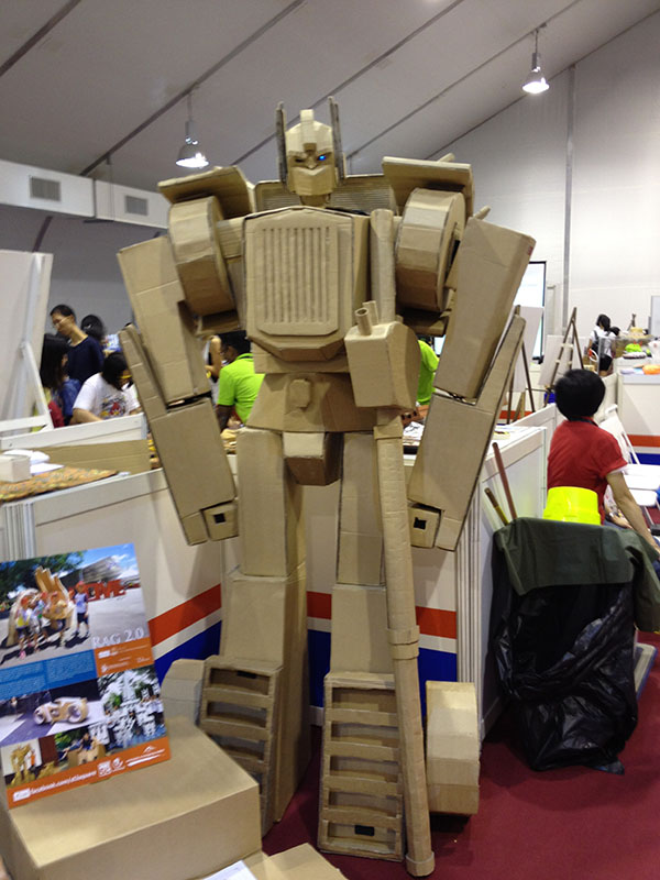 Paper Optimus Prime