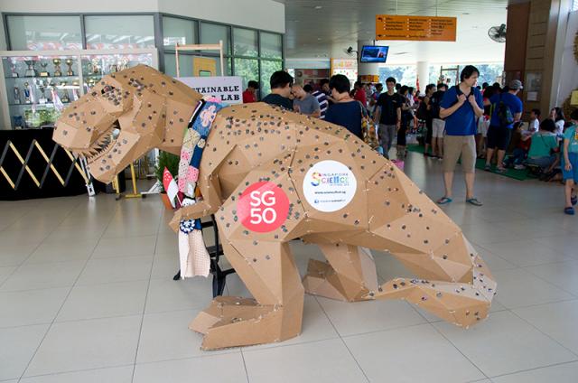 Cardboard T-Rex