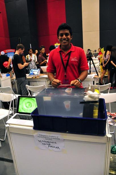 Ultrasonic water purifier