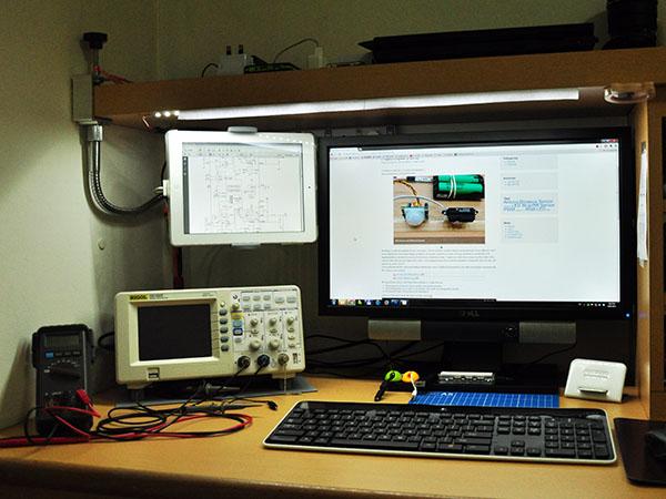 New workbench setup